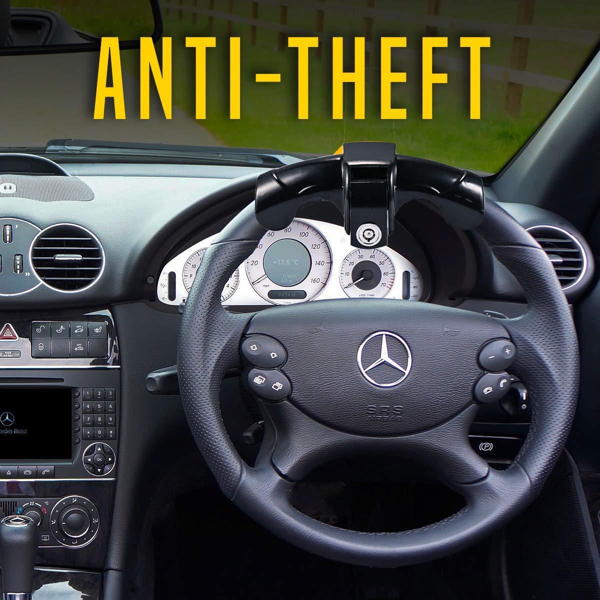 Zento Deals Anti-Theft Car Steering Wheel Lock Premium Quality ...