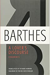 A Lover's Discourse: Fragments Paperback