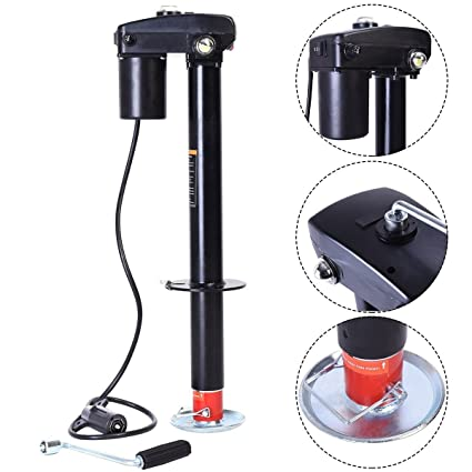 Amazon.com: 3500 lbs Electric Power Tongue Jack RV Boat Jet Ski A ...