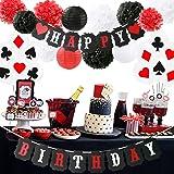 Poker Birthday Party Decorations/Poker Theme Party Supplies Casino Party Decoration Supplies Casino Theme Party,Las Vegas The
