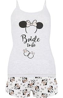 Primark Ladies Girls Disney Minnie Mouse Bride To Be Cami Set ...