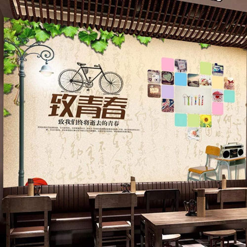 Murals Wallpaper,Al Corazón Juvenil De La Bicicleta Retro,Arte En ...