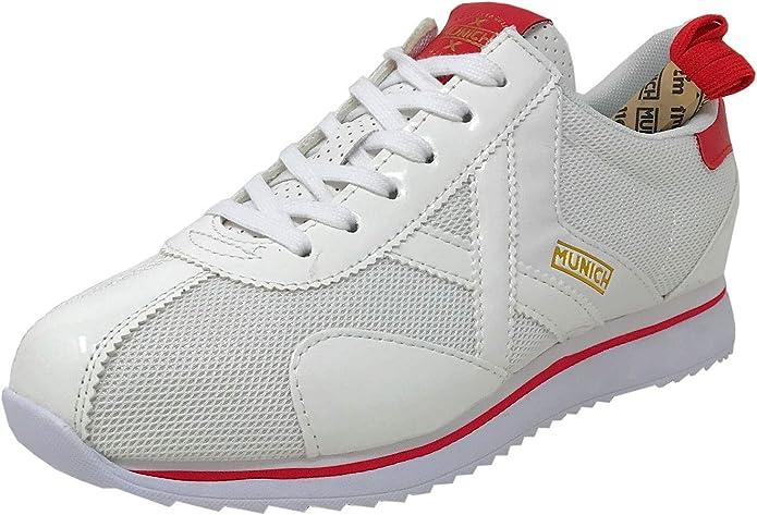 Munich Sapporo 76 Blanco Zapatillas para Hombre: Amazon.es ...