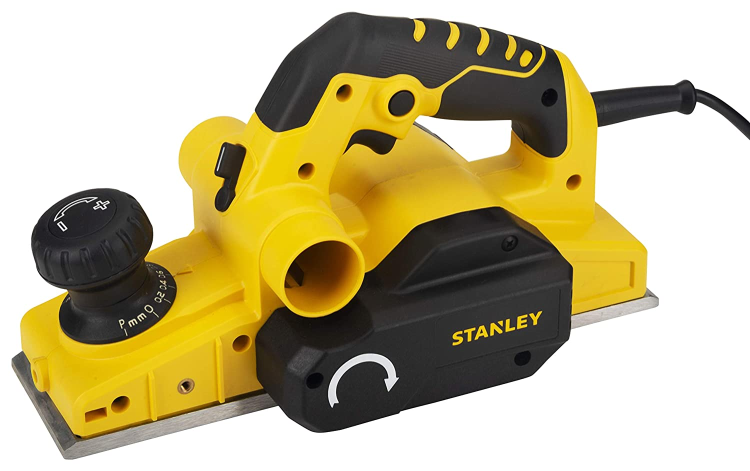 Stanley 750-Watt 2mm Planer (Yellow and Black)
