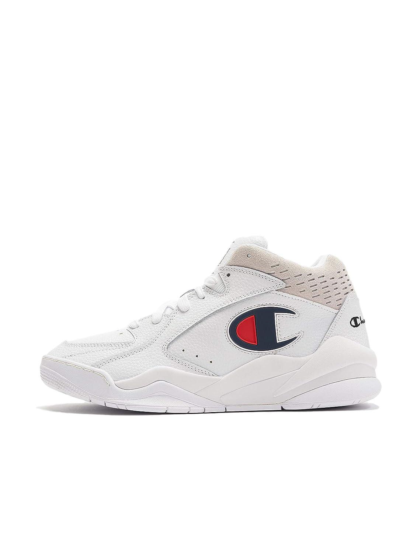 outlet store a4fea a9d2d Champion Zone Mid Uomo Bianco scarpe scarpe scarpe da ...