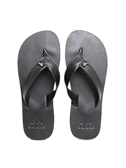 1654aaa46f3e Adidas Men Black Brizo 3.0 Flip-Flops (9UK)  Buy Online at Low ...