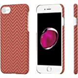 【PITAKA】iPhone8/iPhone7 ケース 防弾チョッキ素材 極薄 軽量 高耐久性 シンプル 個性的 (レッド オレンジ )iPhone8/7カバー