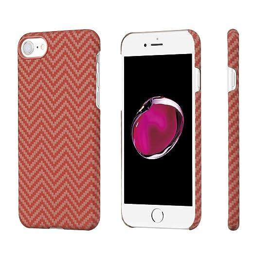 17 opinioni per PITAKA iPhone 8/iPhone 7 Premium Aramide (Bullet Proof materiale) Sottile Di