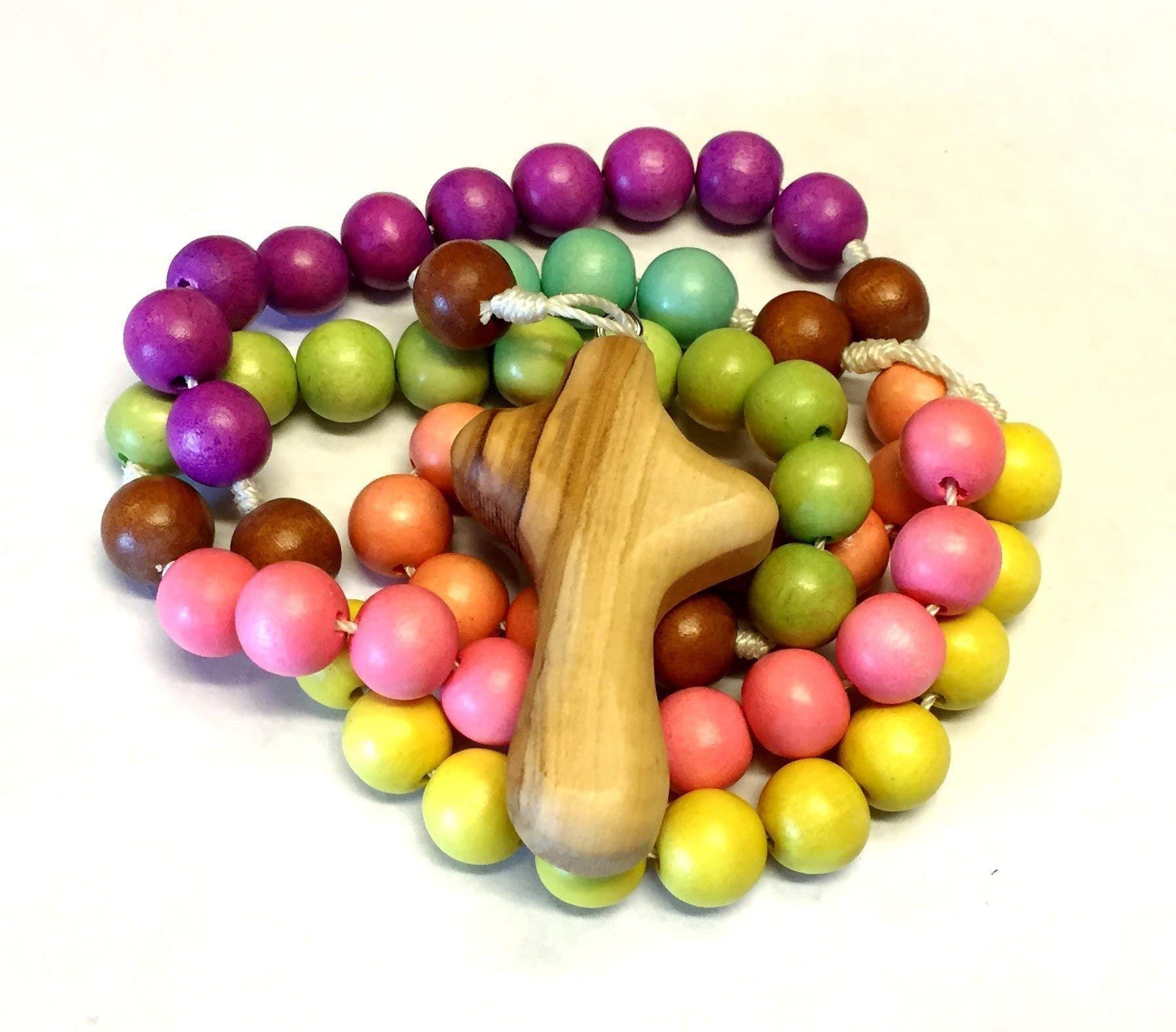Child's Rosary in Pastels by BC Inspirations