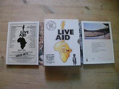 Live Aid by Bob Geldof 4 Disc Set