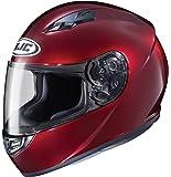 HJC Helmets CS-R3 Unisex-Adult Full Face Metallic Motorcycle Helmet (Wine, Medium)