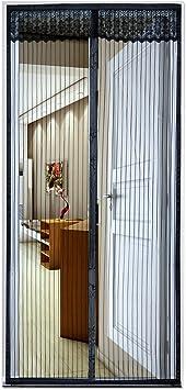 Cortina Mosquitera Magnética, Diealles Mosquitera Magnética Puertas de Madera, Puertas de Hierro, Puertas de Aluminio, Puertas Metálicas, Puertas del Balcón, 100x210 cm: Amazon.es: Bricolaje y herramientas