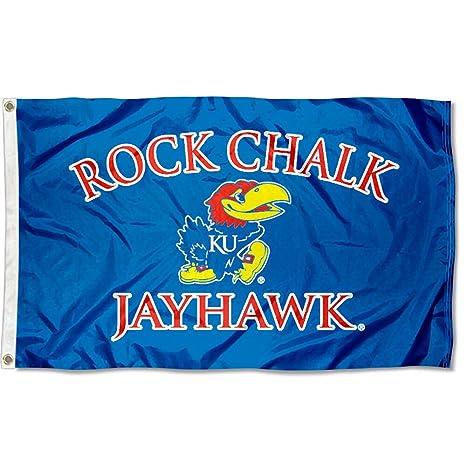 Image Unavailable. Image not available for. Color  Kansas Jayhawks Rock  Chalk KU University Large ... 8cf9f7e2c