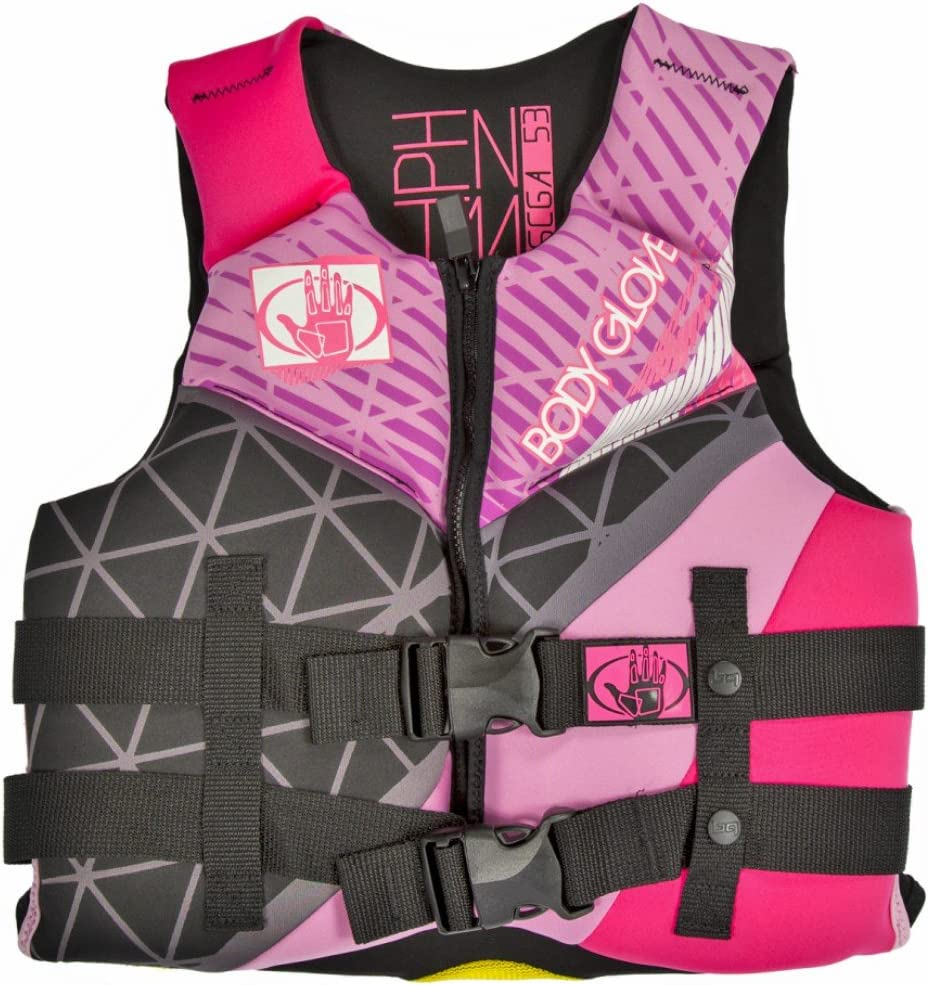 Body Glove Wetsuit Co Phantom Neoprene US Coast Guard Approved PFD Life Jacket, Hot ピンク, by Body Glove Wetsuit Co