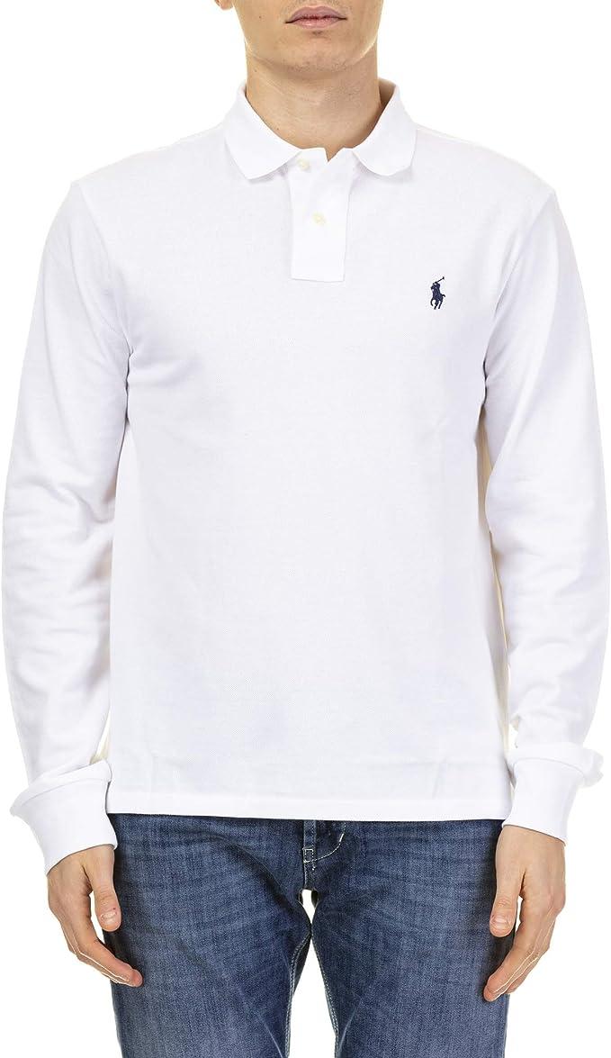 Ralph Lauren Polo Polo Manches Longues Taille Xl Amazon Fr Vêtements Et Accessoires