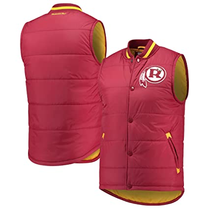 detailed look 18fbd 13d89 Mitchell & Ness Washington Redskins Amazing Catch Vest - Burgundy
