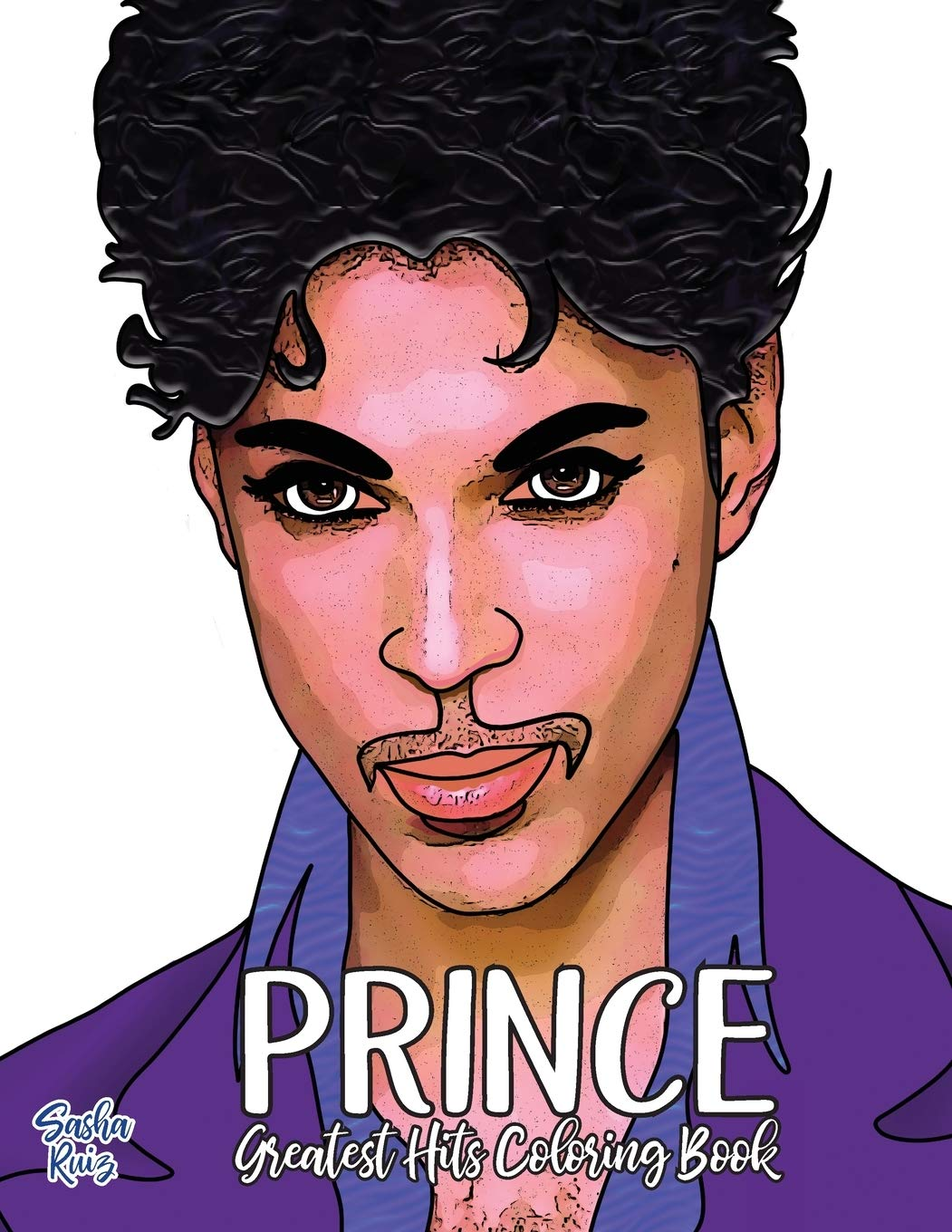 Prince Greatest Hits Coloring Book