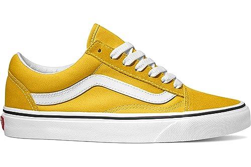 Zapatillas Vans Old Skool Amarillo Hombre y Mujer 36 Amarillo
