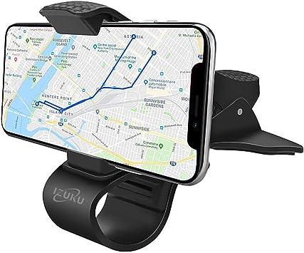 IZUKU Soporte Movil Coche para el Salpicadero Porta Movil Coche HUD para Smartphone y Otros Dispositivos GPS: Amazon.es: Electrónica
