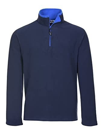 Fila Men's Polartec Fleece 1/4 Zip Pullover at Amazon Men's ...