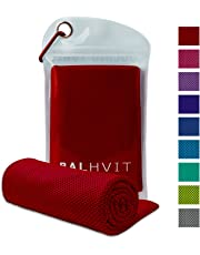 Balhvit Cooling Towel, Ice Towel, Microfiber Towel For Instant Cooling Relief, Cool Cold Towel for Yoga Beach Golf Travel Gym Sports Swimming Camping as Cooling Neck, Headband