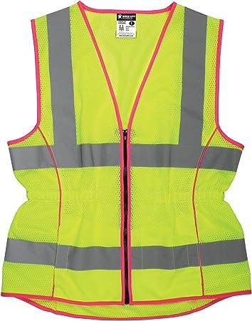 sizes Reflex Vest Safety Vest with zipper diff Size:XS