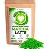 Organic Matcha Latte Grade First Harvest Green Tea Powder Antioxidant Authentic Japanese Origin Powerful Antioxidant Energy a
