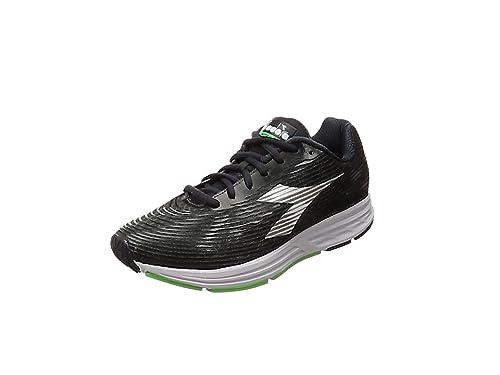 Action +3, Zapatillas de Running para Hombre, Gris (Dk Smokebianco Ottico), 43 EU Diadora