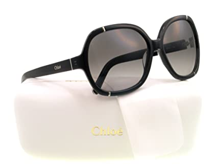 Amazon.com: Chloe anteojos de sol CE 619s Negro 003 ce619s ...