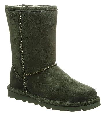2402a5116490 BEARPAW Women s Elle Short Winter Boot Forest Green