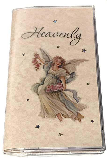 3 Year 2019 2020 2021 Pocket Calendar Planner Date Book with Notepad and Birthday Anniversary Pages (Heavenly)