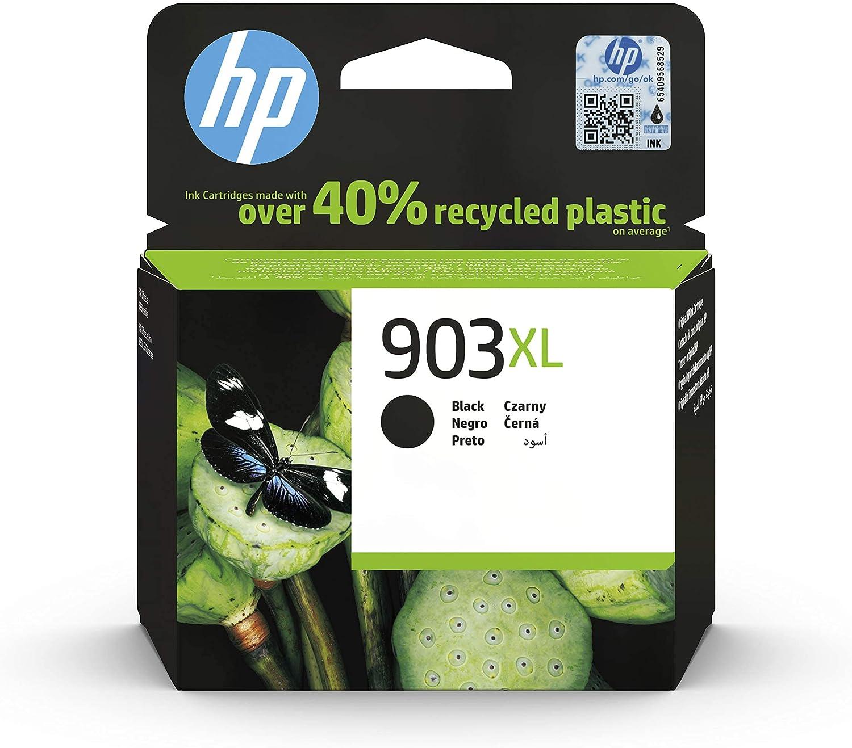 HP 903XL T6M15AE, Negro, Cartucho de Tinta de Alta Capacidad Original, compatible con impresoras de inyección de tinta HP OfficeJet 6950, 6951, OfficeJet Pro 6960, 6970
