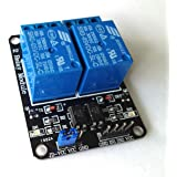 KTC CONS Labs Optocoupler 2 Channel 5V Relay Module Relay Control for Arduino DSP AVR PIC ARM