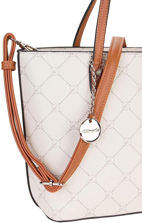Tamaris Anastasia Shopper Tasche 32 cm Ecru