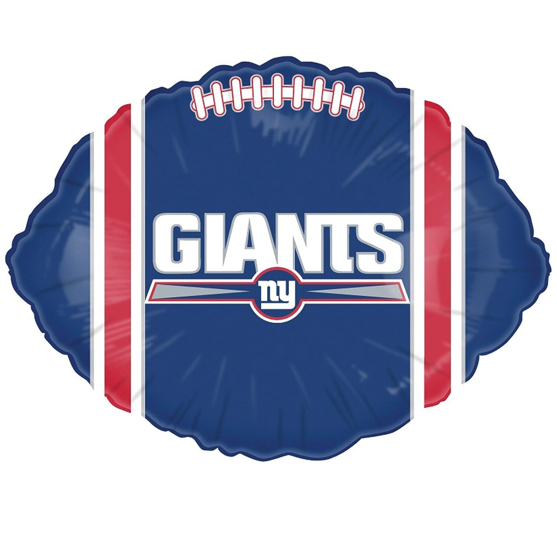 Classic Balloon New York Giants Football Balloon 1 Balloon Mayflower Distributing Co ZZZ-147871