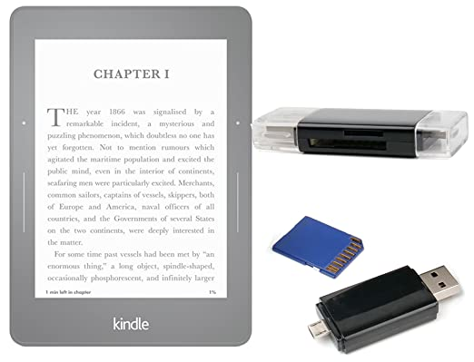DURAGADGET USB 2,0 SD/MicroSD Lector de Tarjetas para Amazon ...