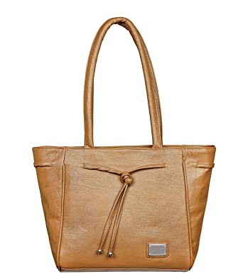 b00e94362ff LB- HandBag for Girls and Women, Durable Spacious Designer Handbags With  Multi Compartments- Tan Color,LB-483  Amazon.in  Clothing   Accessories