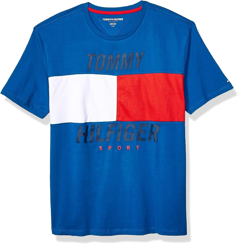 B07XPR1NWY Tommy Hilfiger Men's Sport Short Sleeve Graphic T Shirt 71iuDmLoNCL