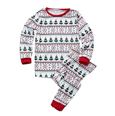 856f2b35dd39 ISSHE Matching Family Christmas Pajamas Baby Kids Boys Adult Pajama ...