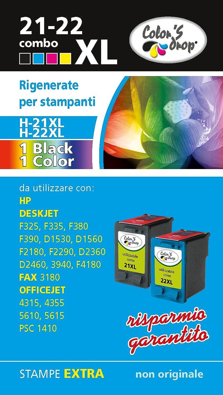 f2faff95c13a13 HP 21 X L HP22 X L Combo Pack cartouches reconditionnées haute capacité  durable modeling