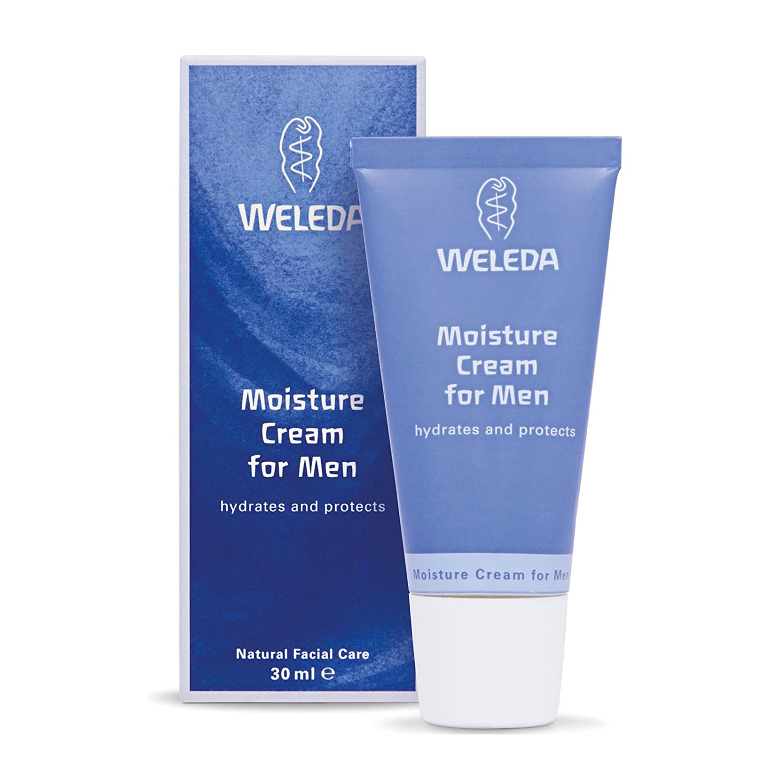 Weleda Moisture Cream for Men 1.0 fl oz Cream Derm Acte Antioxidant Cream 1.7oz