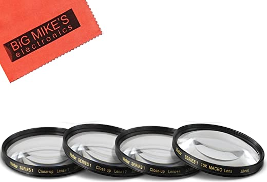 10x High Definition 2 Element Close-Up Lens for Fujifilm X-T1 77mm Macro