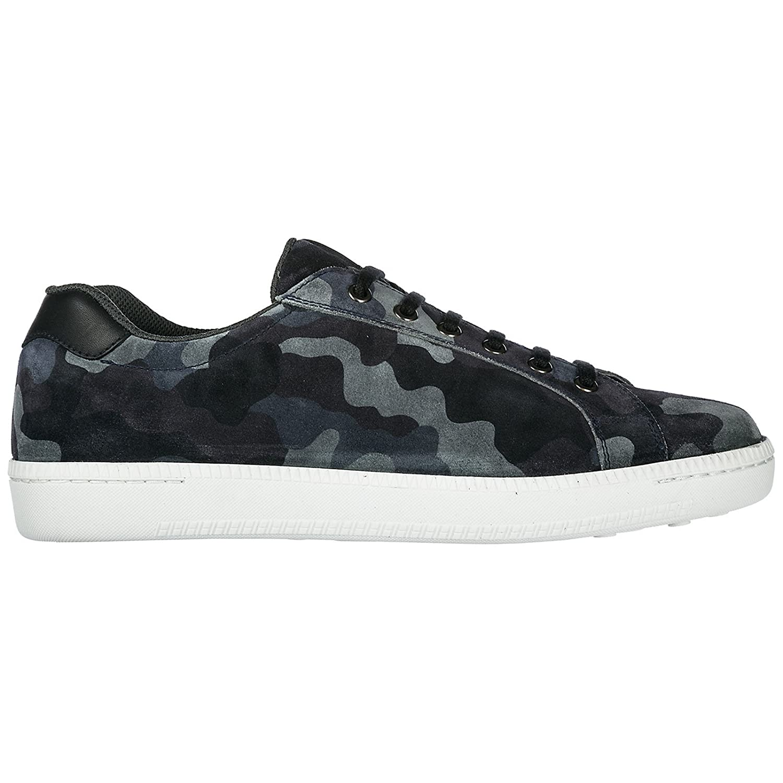 Car Shoe Zapatos Zapatillas de Deporte Hombres BLU 42 EU