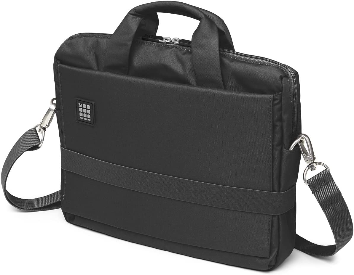 Moleskine ID Horizontal Device Bag, Black, 13 Inch