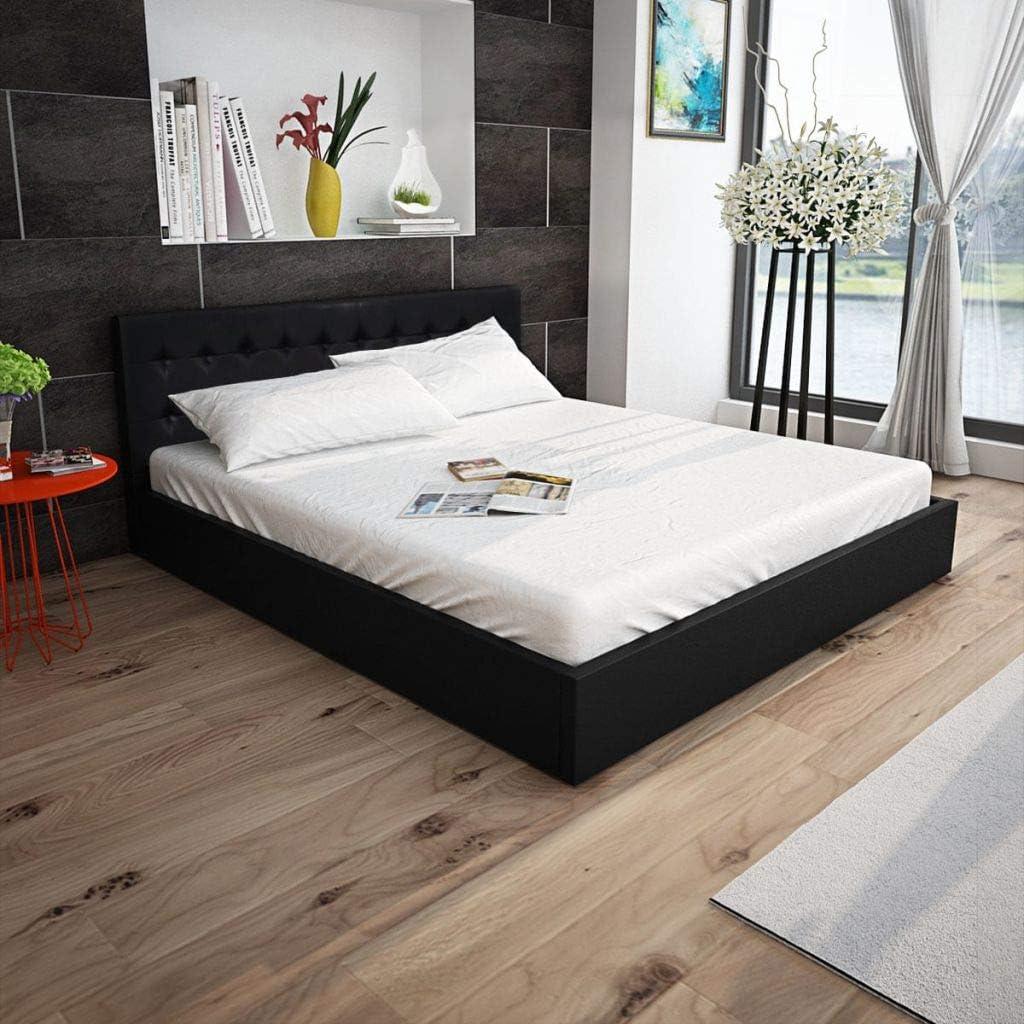 Fijo Night de cama con espacio Hydraulic – Parche con colchón ...