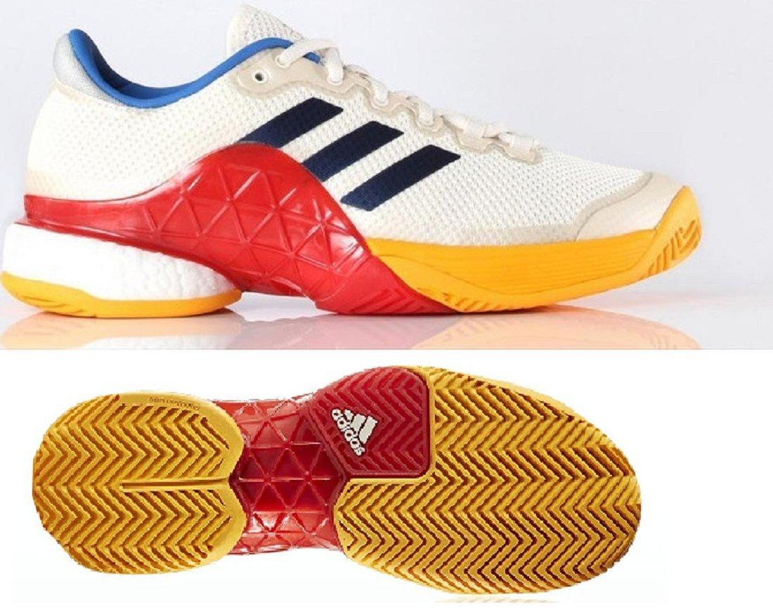 adidas(アディダス) ファレルウィリアムスコラボ オールコート用 テニスシューズ AC 27.0cm バリケード ブースト Barricade BY8870 2017 テニスシューズ boost PW AC 国内正規品 BY8870 ダークブルー/チョークホワイト B07CWJMY23, 中津軽郡:3e4320ea --- cgt-tbc.fr