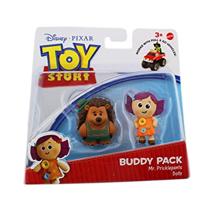 Image Unavailable. Image not available for. Color  Toy Story Action Links  Buddy Packs - Mr. Pricklepants   Dolly 7f7c726e415