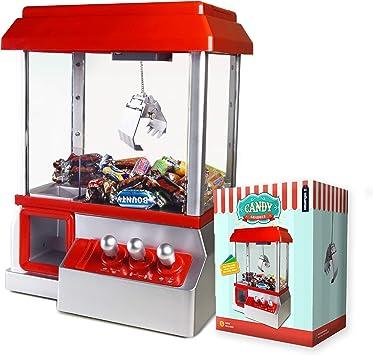 Mikamax Candy Grabber Machine à Bonbons Rouge Machine à Sous à Pince Amazon Fr Jeux Et Jouets