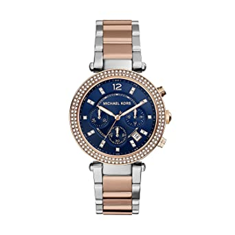 462c47b4a6af Amazon.com  Michael Kors Women s Parker Two-Tone Watch MK6141 ...