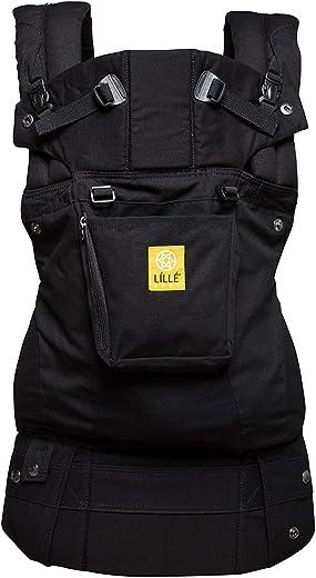 LÍLLÉbaby Complete Original 6-in-1 Ergonomic Baby & Child Carrier, Black - 100%...